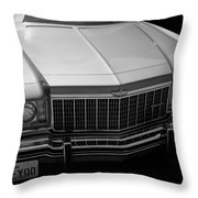 Classic Chevy Caprice  Throw Pillow