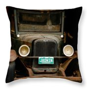 Classic Chevy Throw Pillow