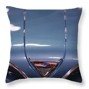 Classic Chevy Impala Trunk Throw Pillow