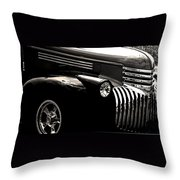 Classic Chevy Truck Throw Pillow by Optical Playground By MP Ray