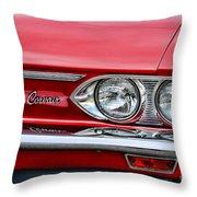Classic Corvair Throw Pillow