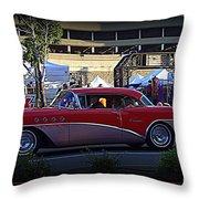 Classic Cruiser Throw Pillow