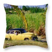 Classic Cuba Throw Pillow
