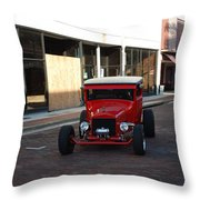 Classic Custom Hotrod Throw Pillow