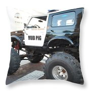 Classic Custom Jeep Throw Pillow