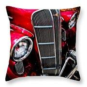Classic Dodge Brothers Sedan Throw Pillow