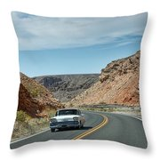 Classic Drive Throw Pillow