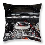 Classic Engine Throw Pillow
