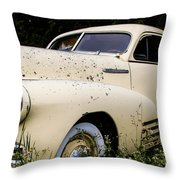 Classic Fleetline Car Throw Pillow