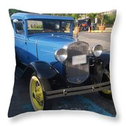 Classic Ford Throw Pillow