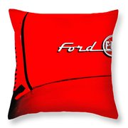 Classic Ford F100 Throw Pillow