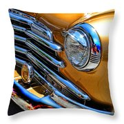 Classic Gold Throw Pillow