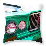 Classic Jeep J3000 4 Wheel Drive By Sharon Cummings Throw Pillow