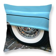 Classic Lines Of 1956 Throw Pillow