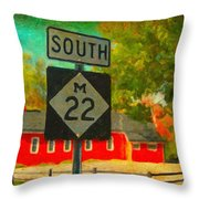 Classic M22 Throw Pillow