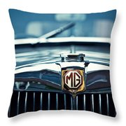 Classic Marque Throw Pillow