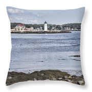 Classic New England Throw Pillow