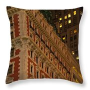 Classic Nyc Throw Pillow