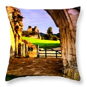 Classic Painting Throw Pillow