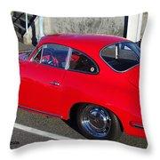 Classic Porsche 356c Throw Pillow