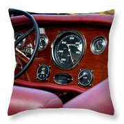 Classic Race Boat Dash Throw Pillow