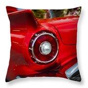 1957 Ford Thunderbird Classic Car  Throw Pillow