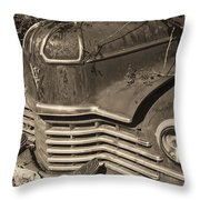 Classic Rust Throw Pillow