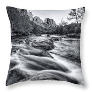 Classic Sedona Throw Pillow by Darren  White