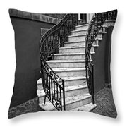 Classic Staircase Throw Pillow