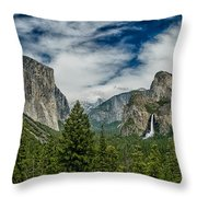 Classic Tunnel View Throw Pillow