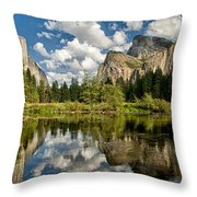 Classic Valley View Throw Pillow