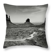 Classic West Throw Pillow