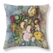 Classical Bouquet - V01c Throw Pillow