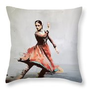 Classical Dance Art 11 Throw Pillow