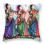 Classical Dance1 Throw Pillow