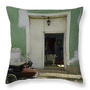 Classical Dining For Two.. Throw Pillow