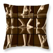 Classical Melody Throw Pillow