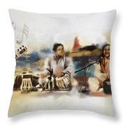 Classical Singers Throw Pillow