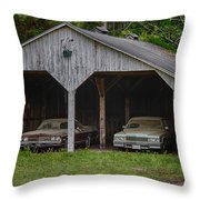 Classics In Waiting Throw Pillow