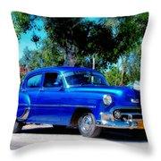 Classics Of Cuba Throw Pillow