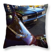 Classics On G Street Throw Pillow