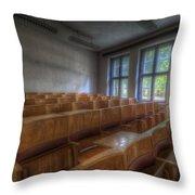 Classroom Seating Throw Pillow