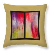 Classy And Sassy   Diptych Throw Pillow