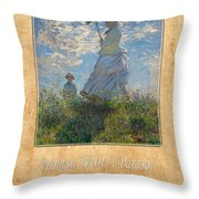 Claude Monet 1 Throw Pillow
