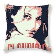 Claudia C Throw Pillow