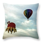 Claw D The Crab Throw Pillow