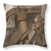 Clawhammer 2 Throw Pillow