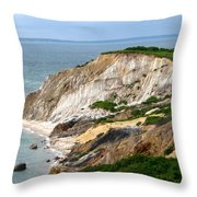 Clay Cliffs Throw Pillow