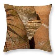 Clay Pots   #7806 Throw Pillow