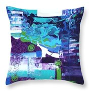 Clear Cool Water Throw Pillow